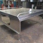 A custom bench top in Mackay - B & B Hazell Sheet Metal Works