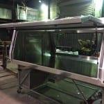 Custom designed & built ute canopy in Mackay - B & B Hazell Sheet Metal Works