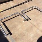Custom built metal guards in Mackay