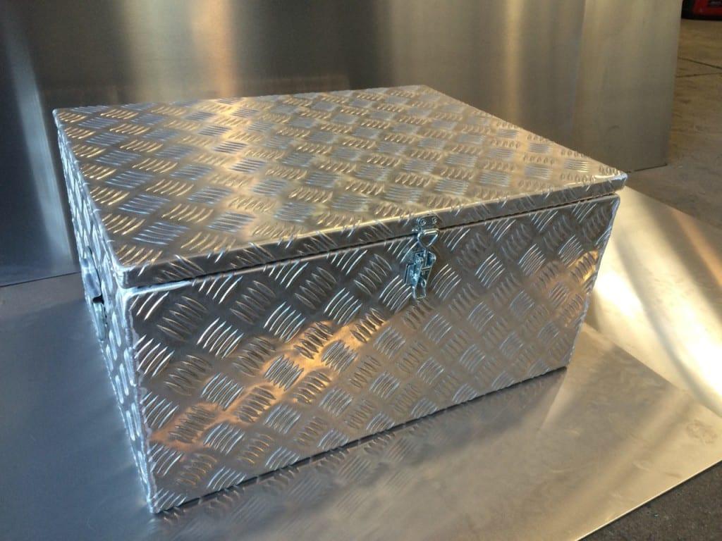 A custom made steel tool box in Mackay - B & B Hazell Sheet Metal Works