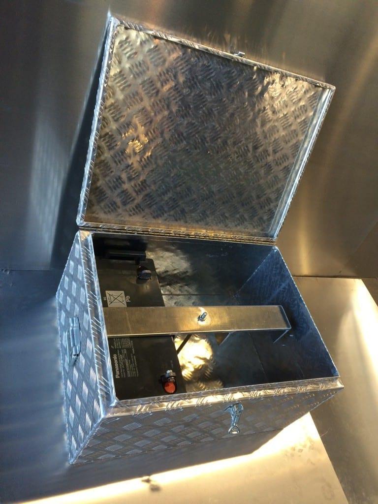Custom Steel tool box in Mackay - - B & B Hazell Sheet Metal Works
